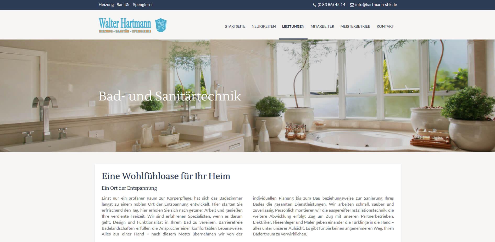 Bad und Sanierung - Screenshot