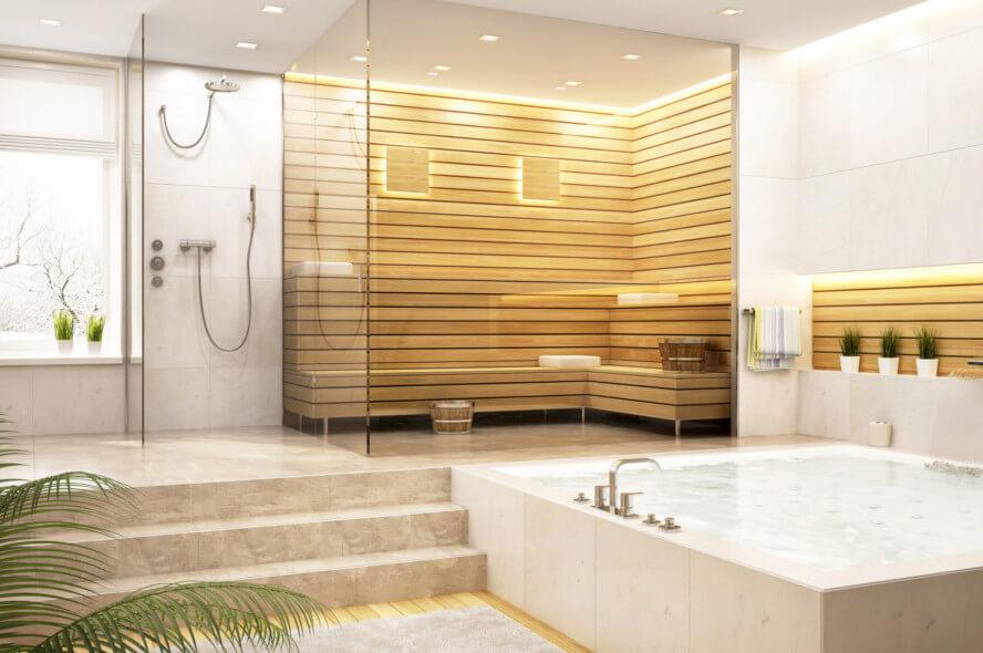 Bäderbau - Modernes Luxusbad - Beispiel 2