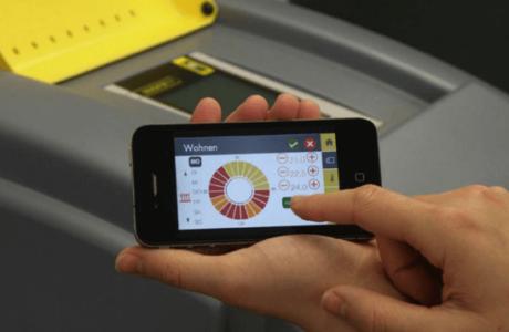 Wärmepumpen - Smartphone Bedienung - IDM